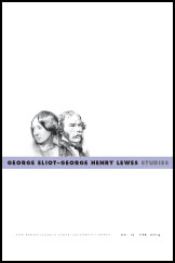 George Eliot George Henry Lewes Studies
