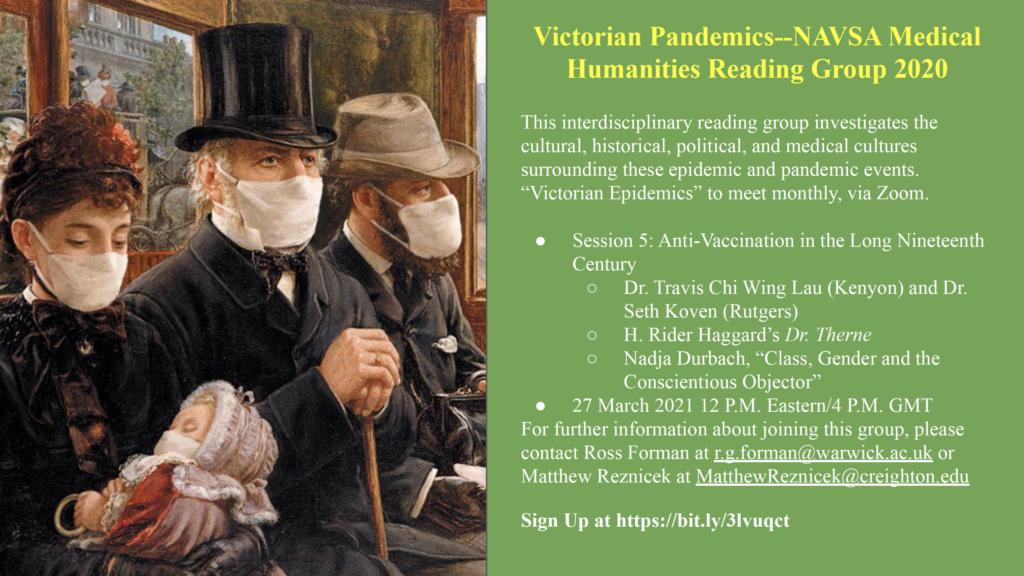 Victorian Pandemics ad